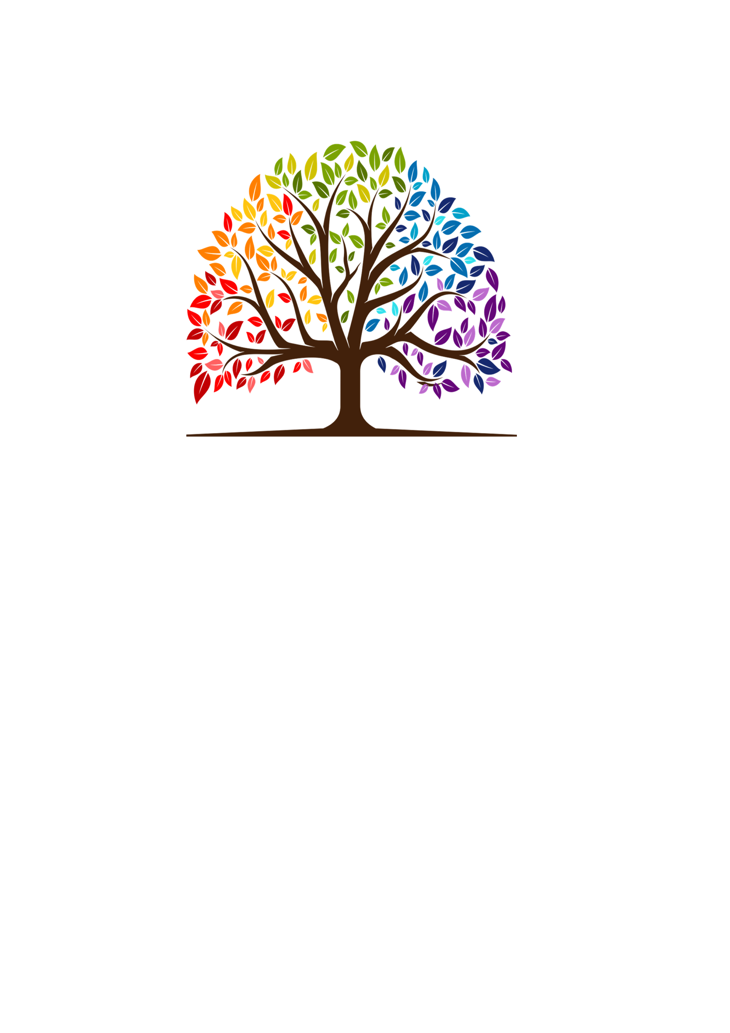 Kerze Regenbogenbaum