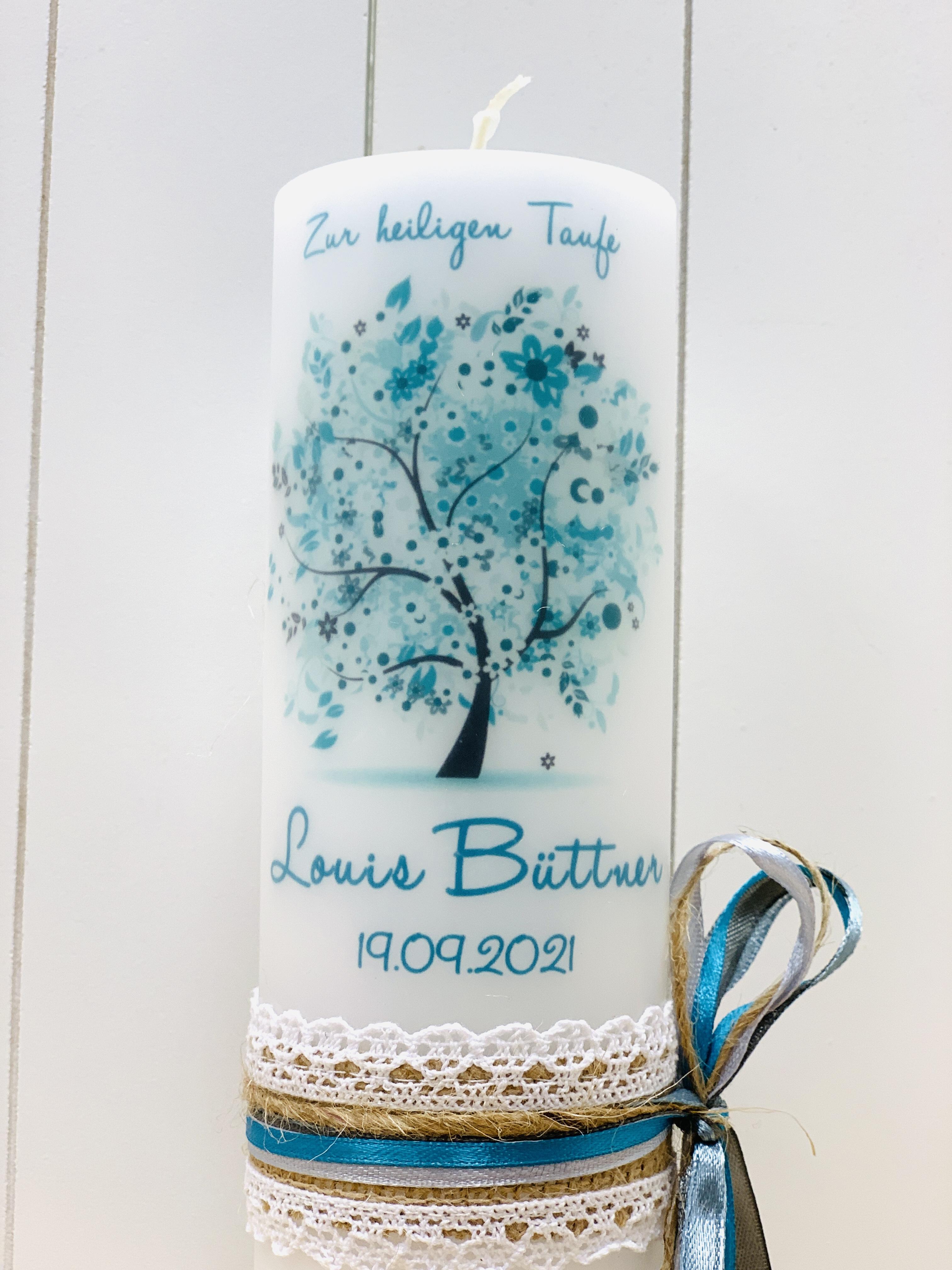 Baum des Lebens türkis