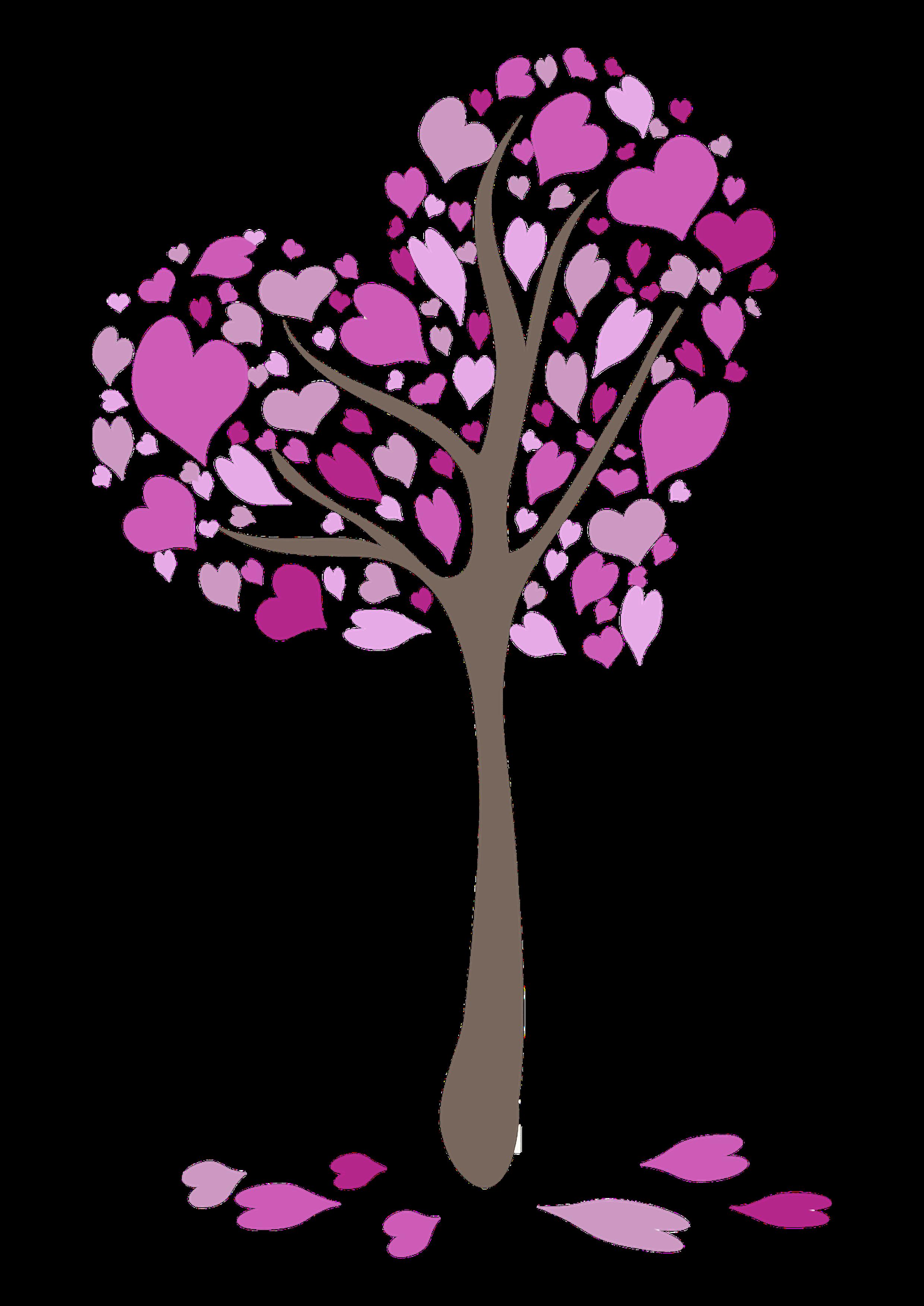 Kerze Herzchenbaum hibiskus