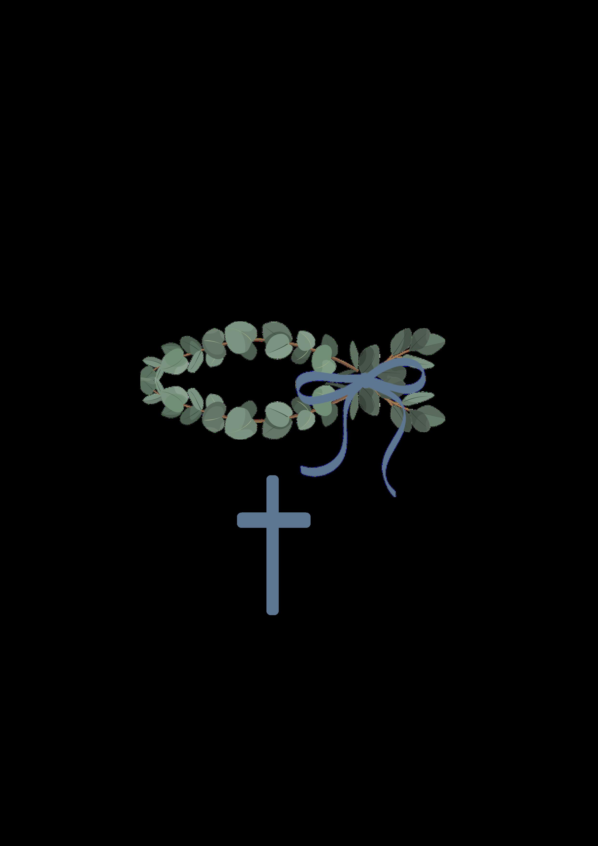 Fisch Eukalyptus blau Motiv 283